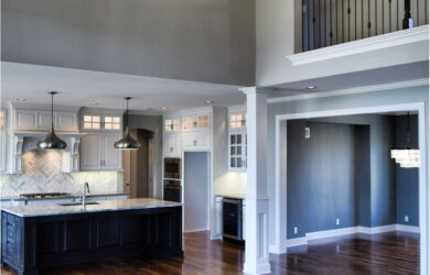 2 Story Living Room Open Paint Colors