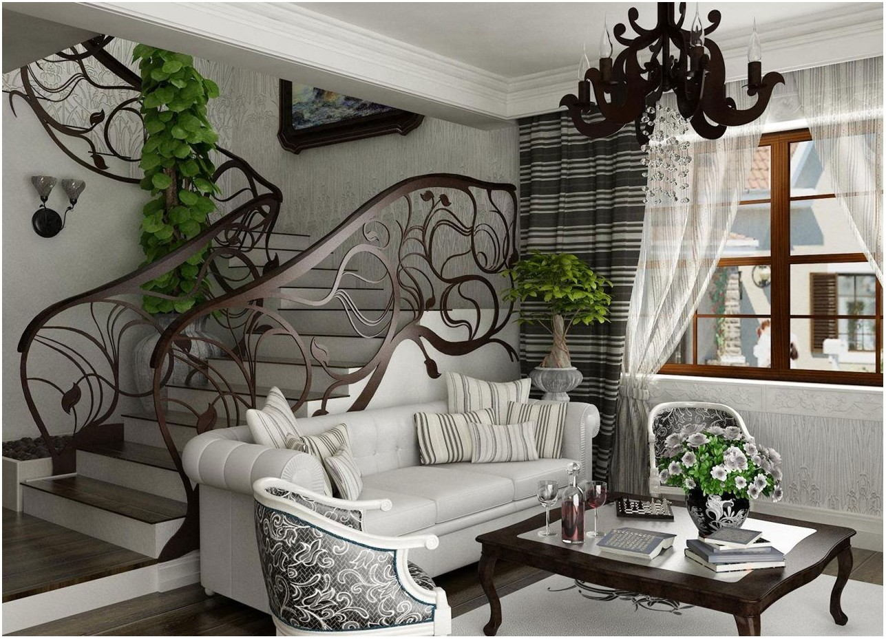Art Nouveau Interior Design Living Room