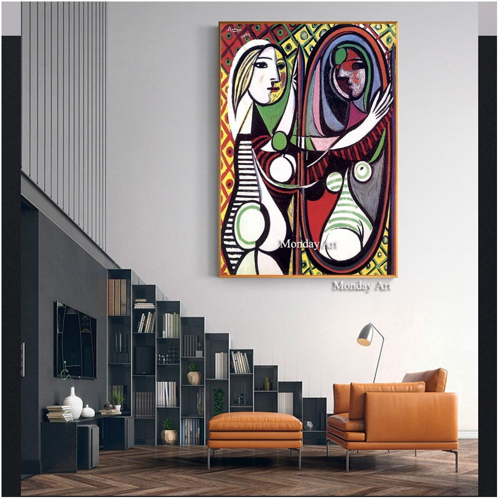 Art Painting And Mirrors For Living Room
