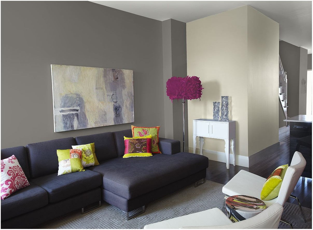 Behr Paint Gray Living Room