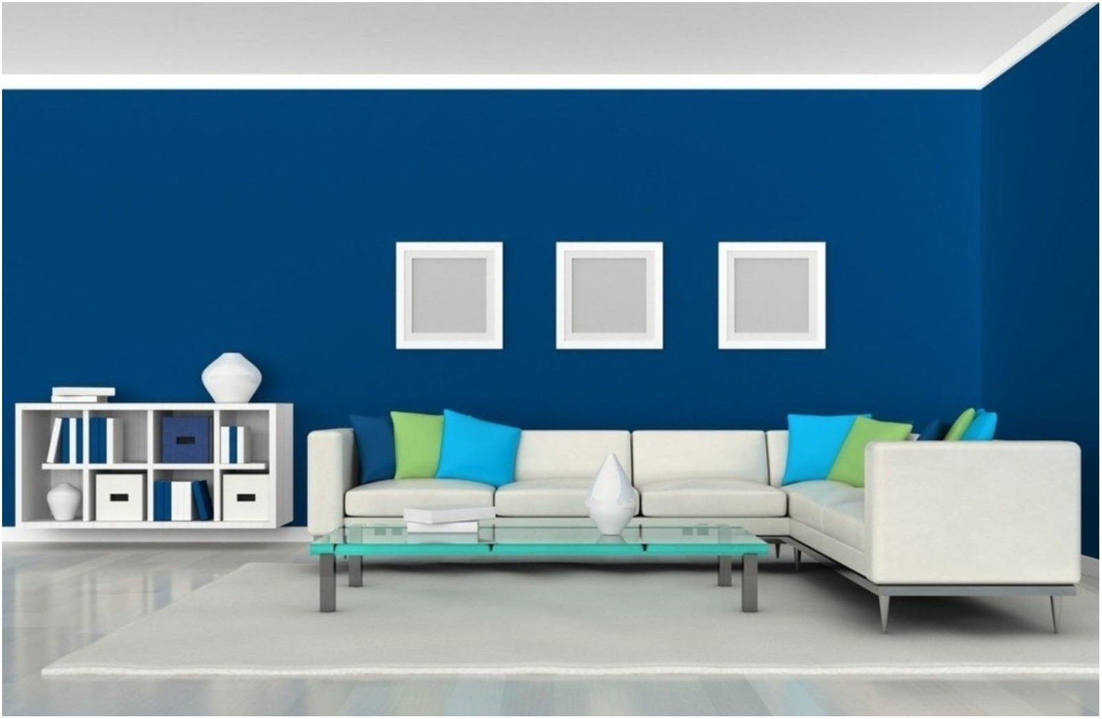 Blue Paint Schemes Living Room