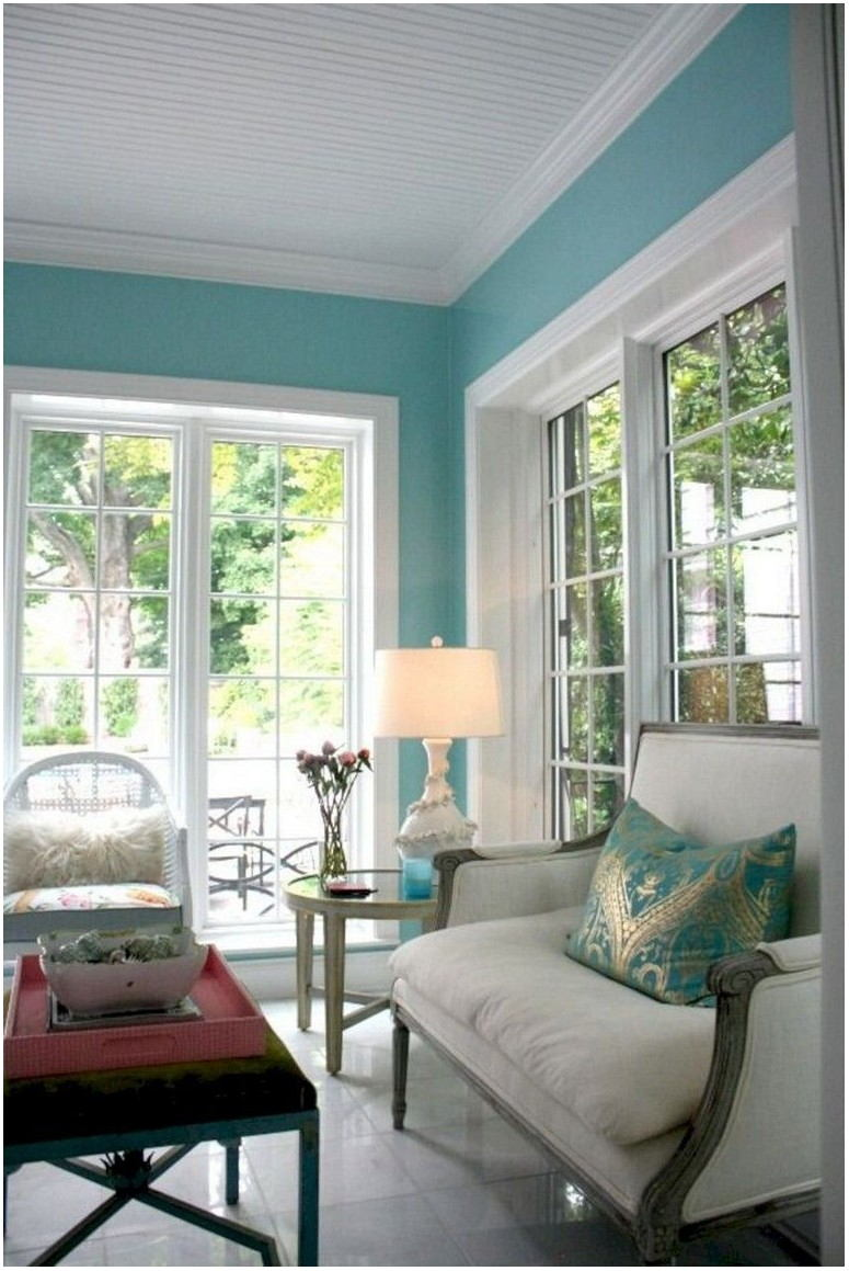 Bright Paint Colorful Living Room Ideas