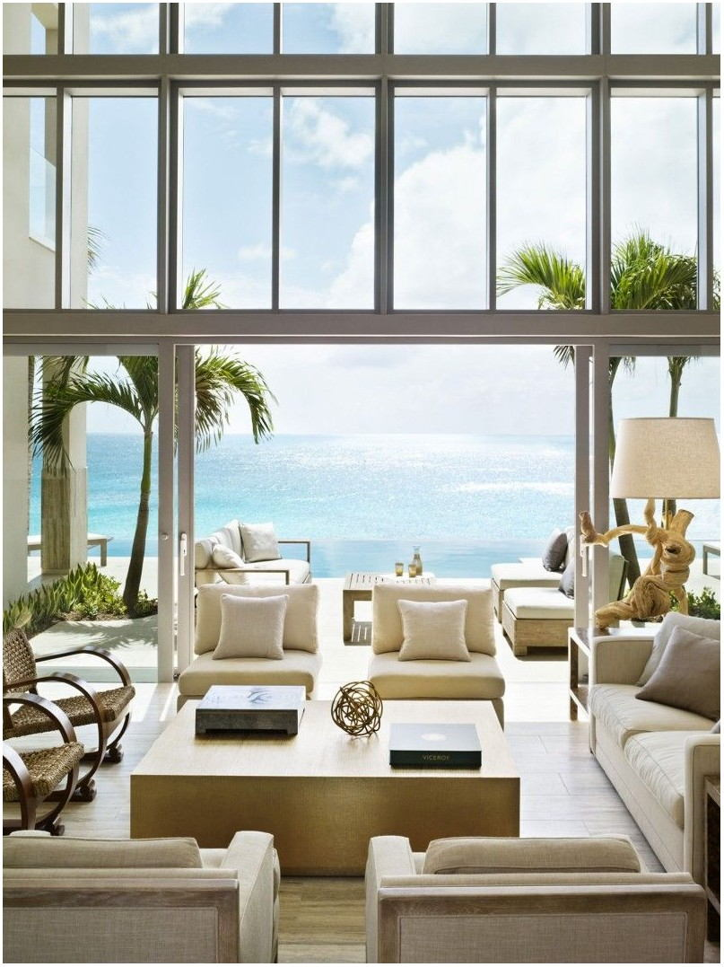 Caribbean Living Room Interior