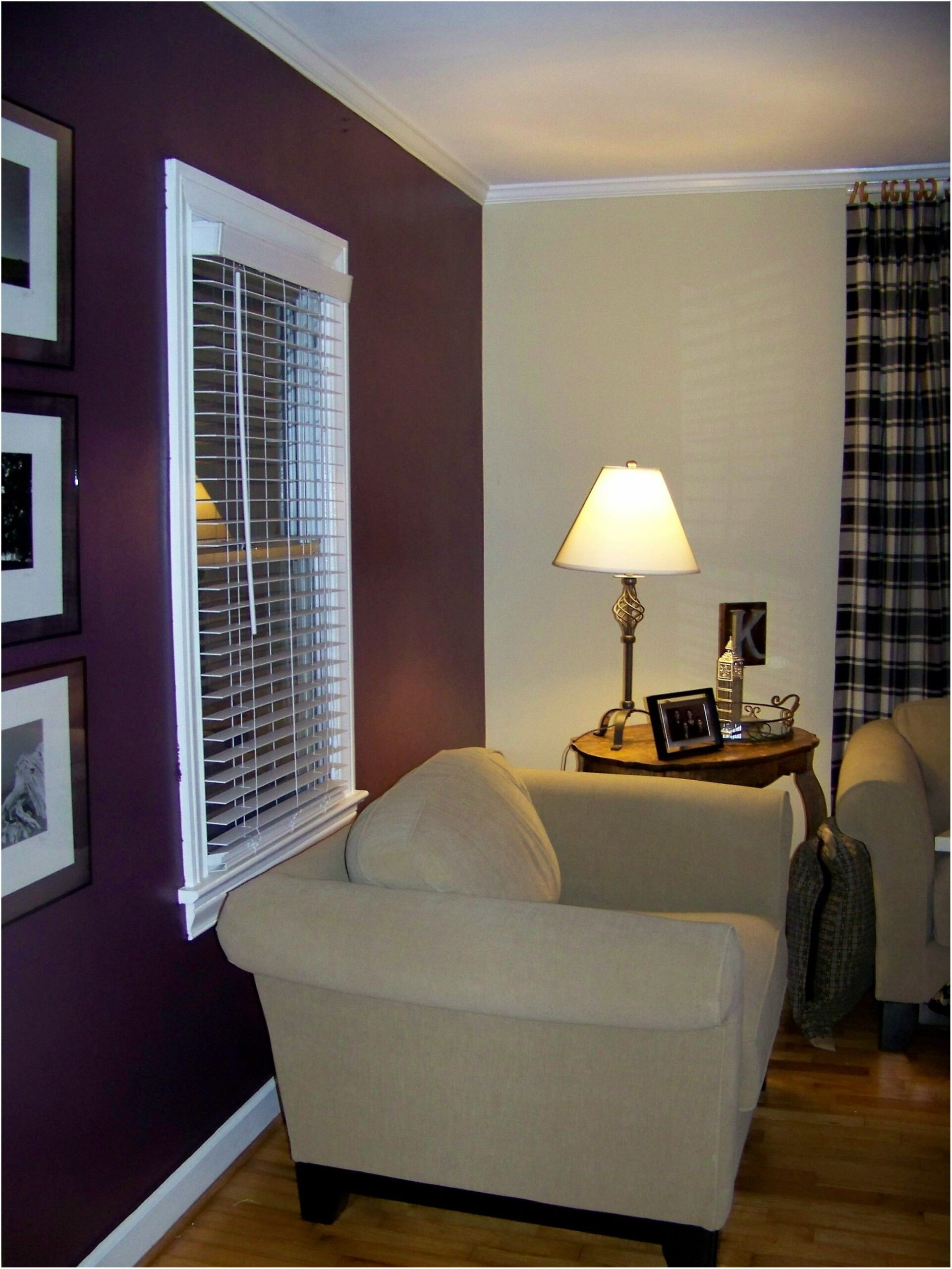 Dark Purple Paint Living Room