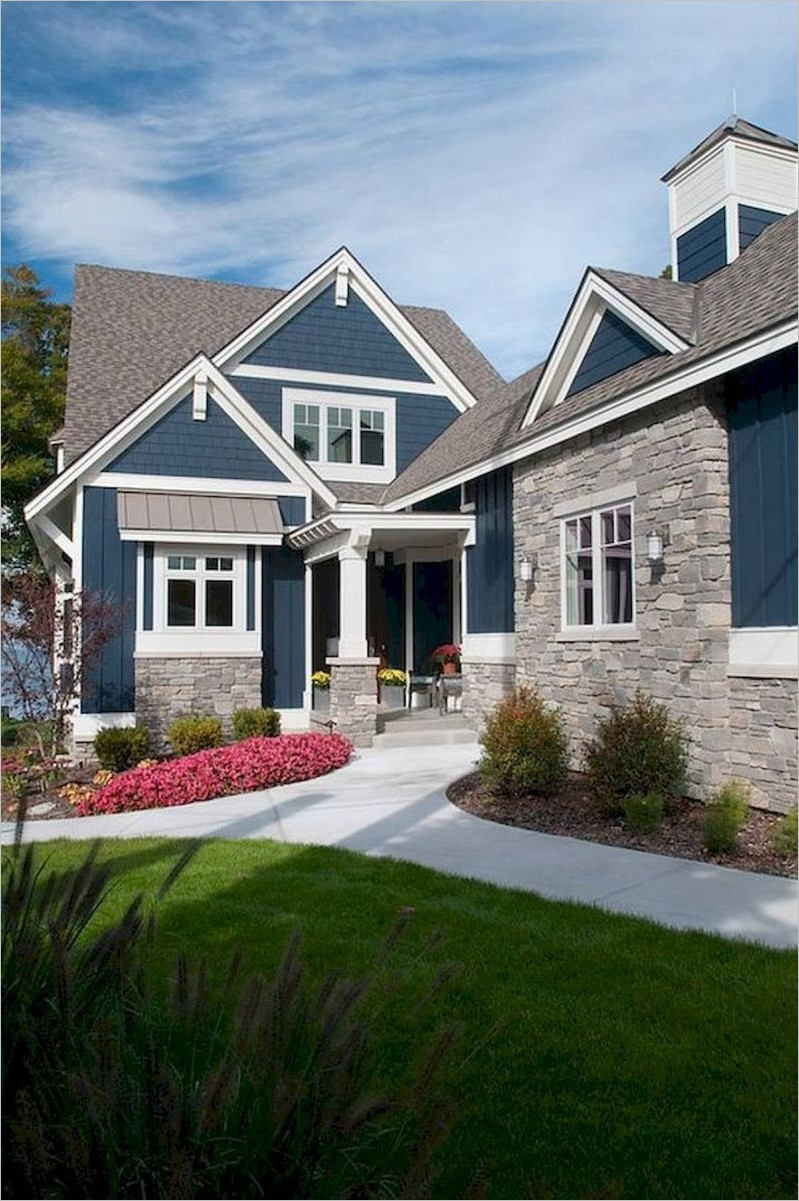 Exterior House Paint Ideas 2019