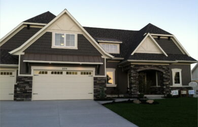 Exterior House Paint Ideas With Stone