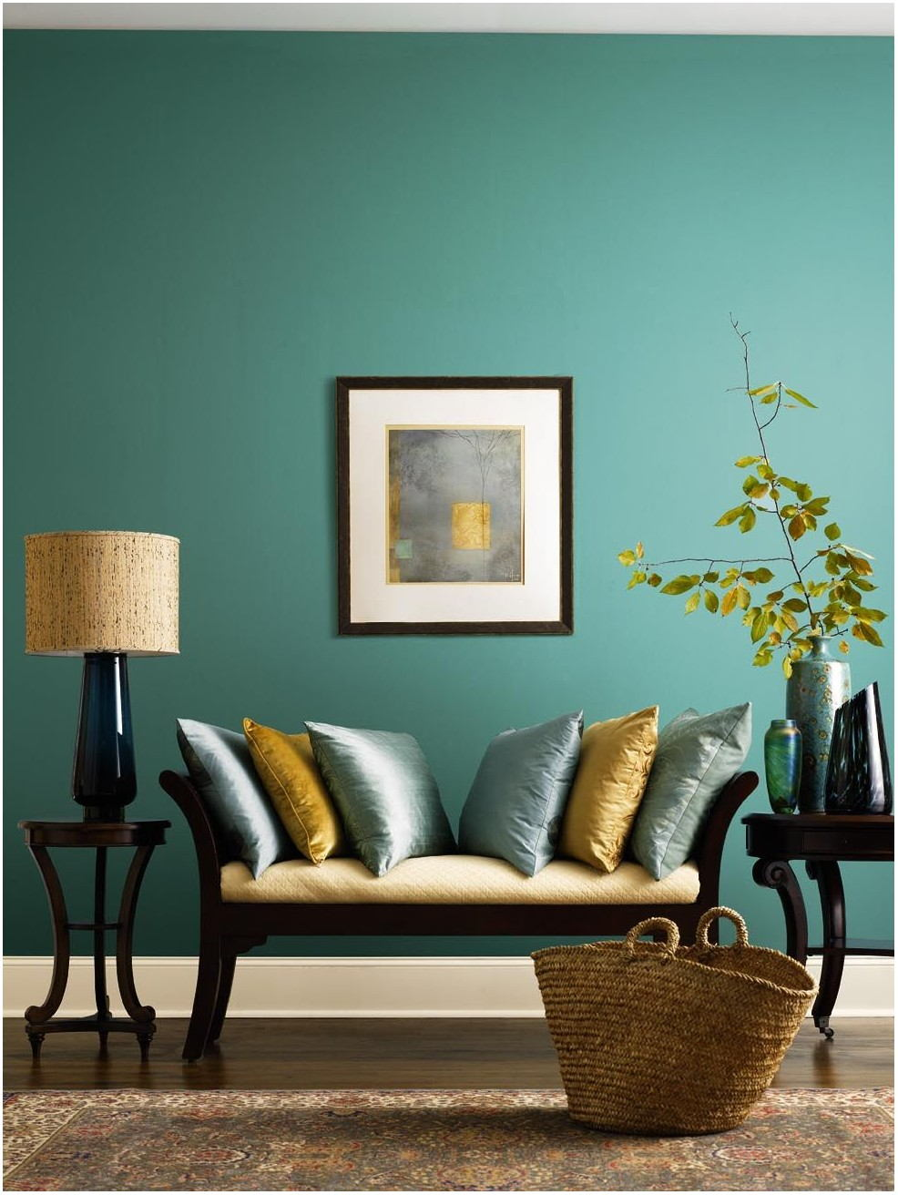 Gold Paint Living Room Ideas