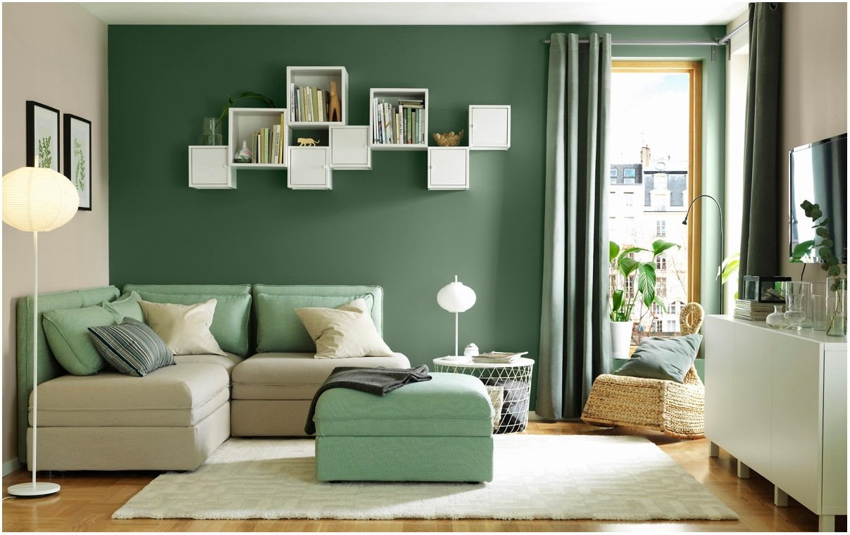 Images Of Green Painted Living Rooms