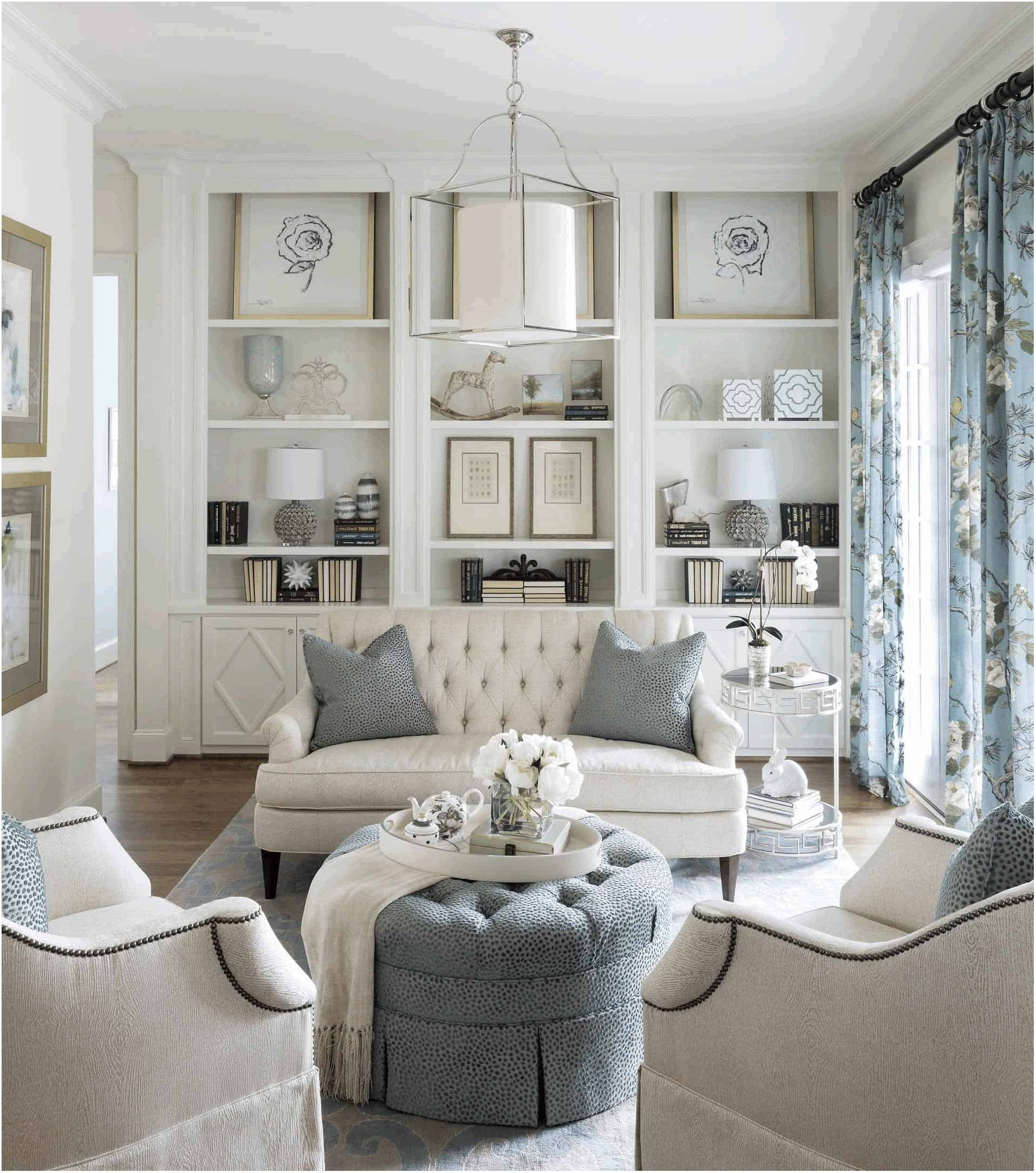 Interior Design Living Room With White Furniture