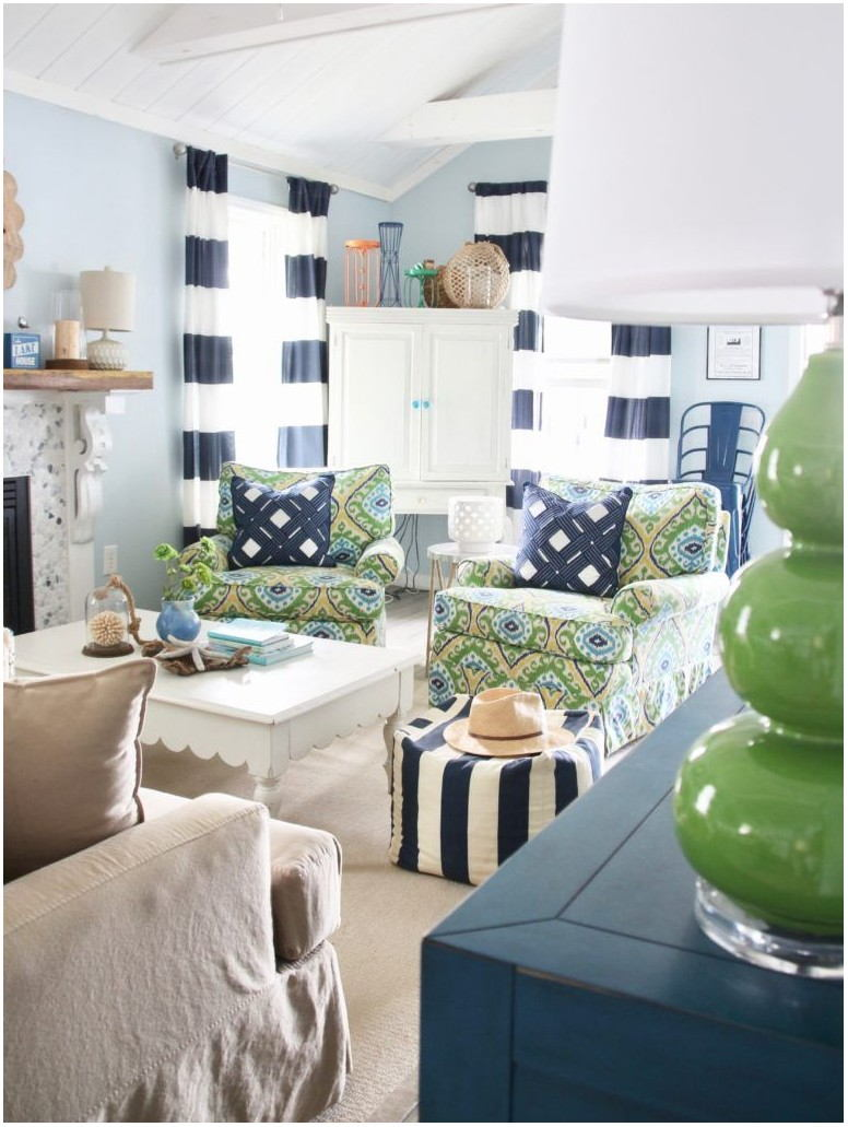 Lake House Living Room Paint Ideas