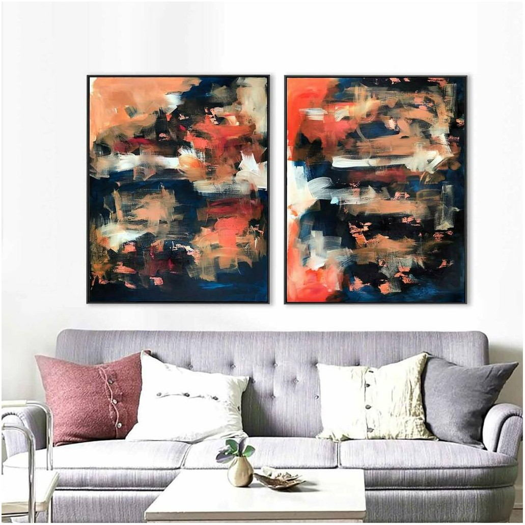 Large Abstract Painting Living Room