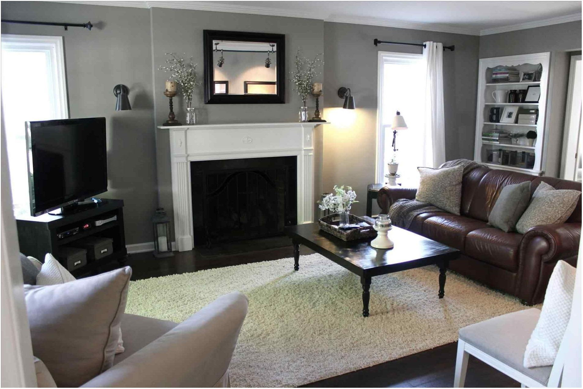 Light Gray Painted Living Rooms