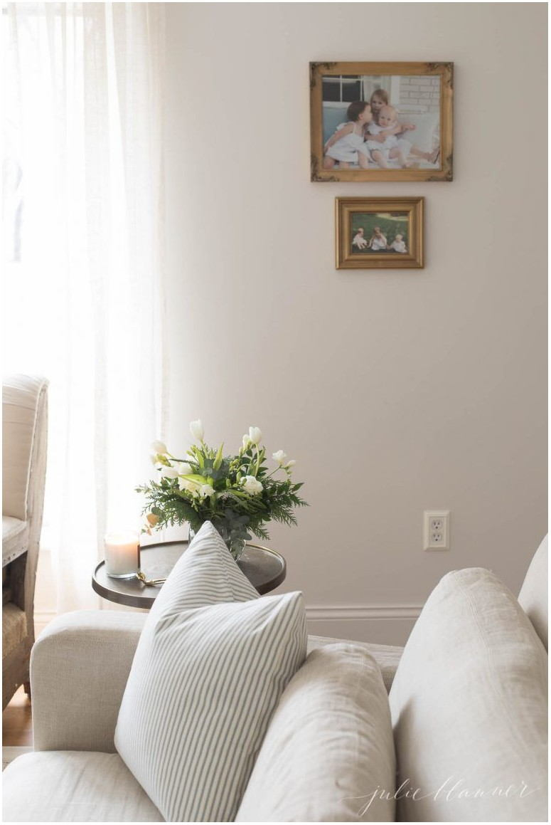 Living Room White Wall Paint