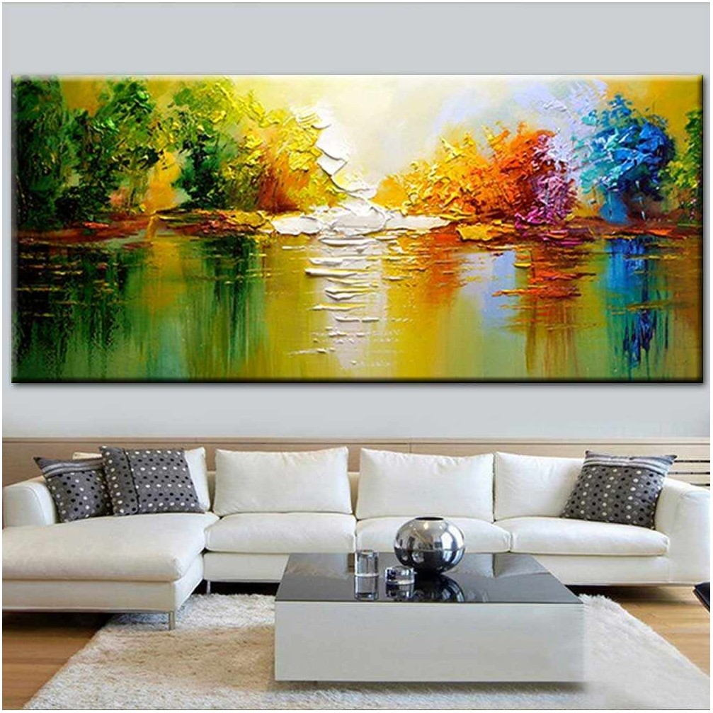 Oil Paintings For Living Room Wall