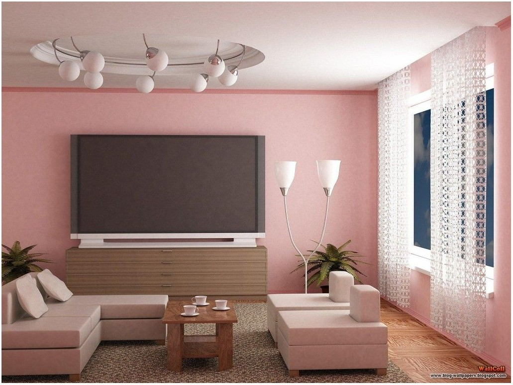 Pink Paint For Living Room