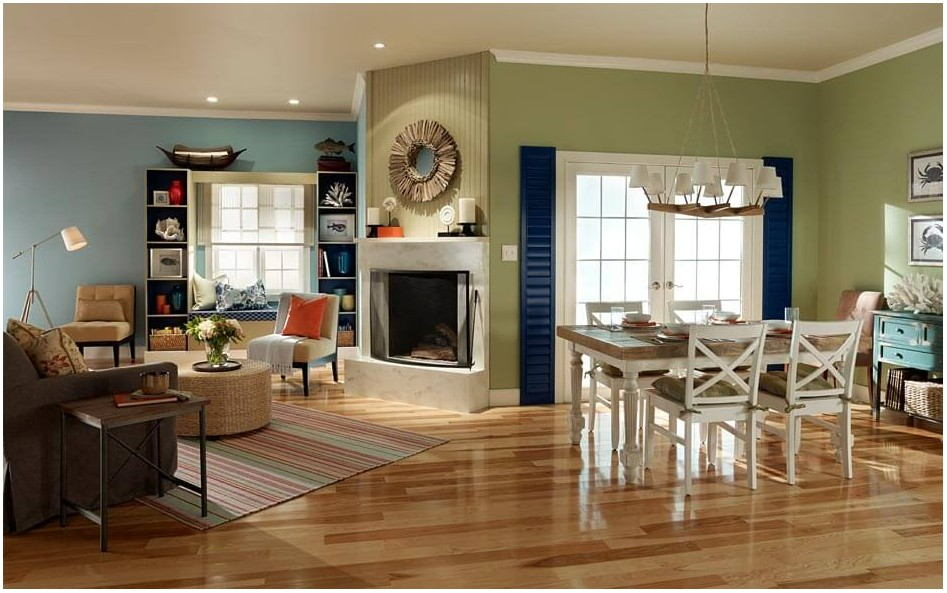 Sample Living Rooms Painted
