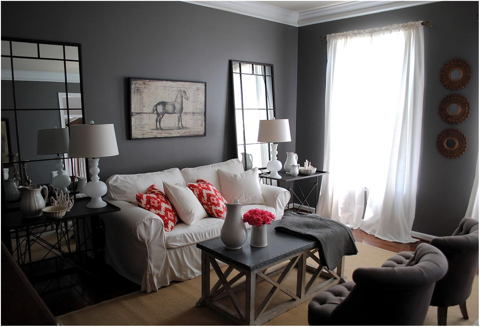 Shades Of Gray Paint For Living Room