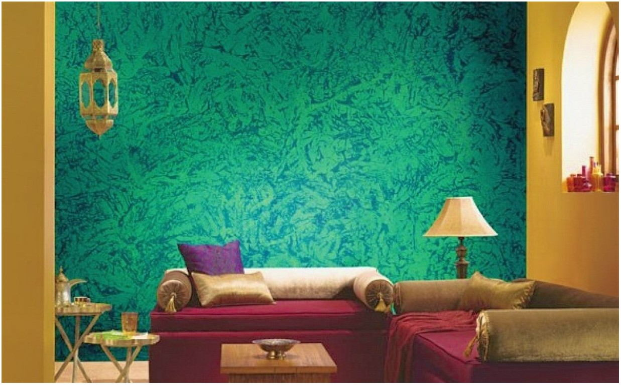 Texture Paint Designs For Living Room India