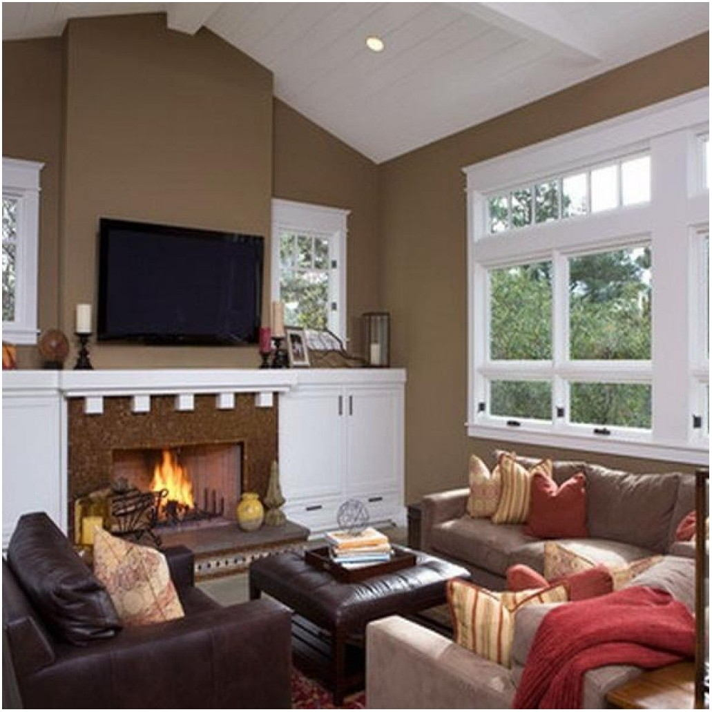 Trendy Paint Colours For Living Room