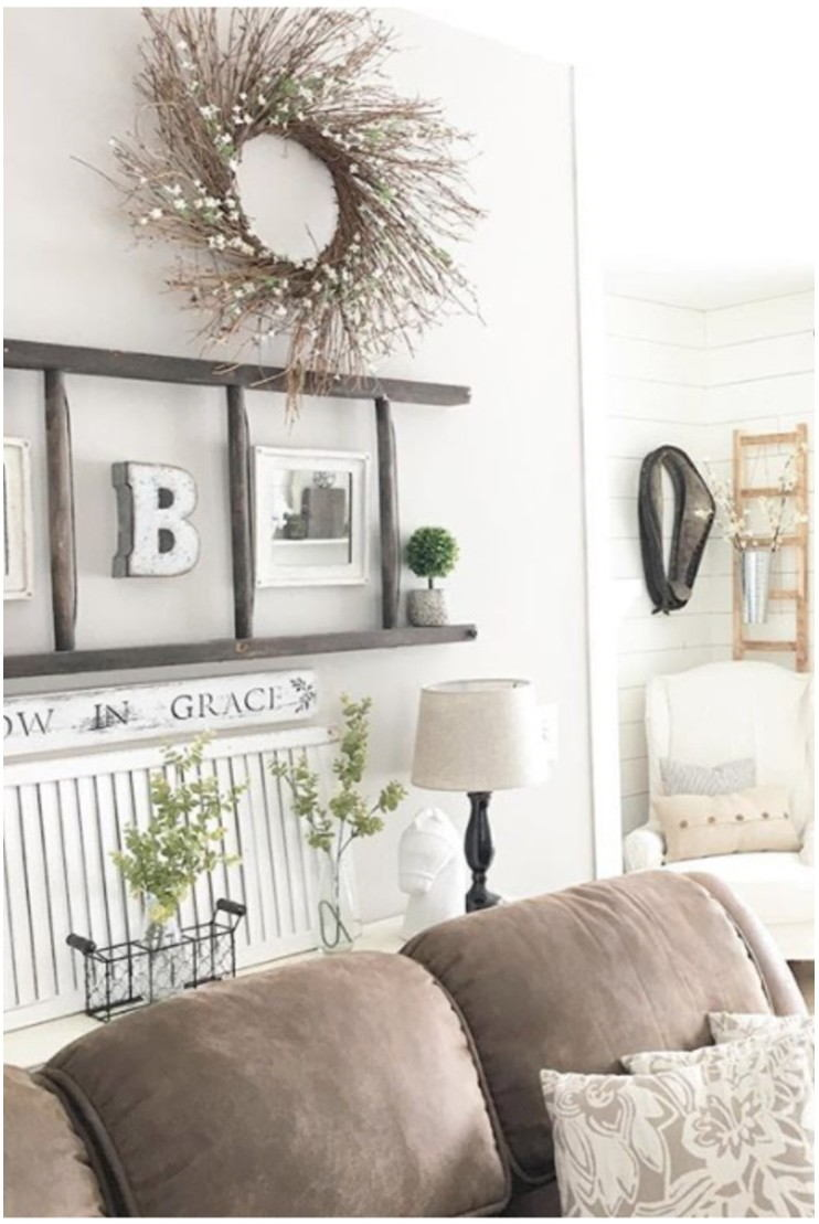 Wall Painting For Farmhouse Living Room