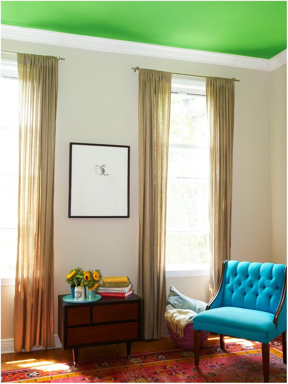 What Color To Paint Living Room Ceiling
