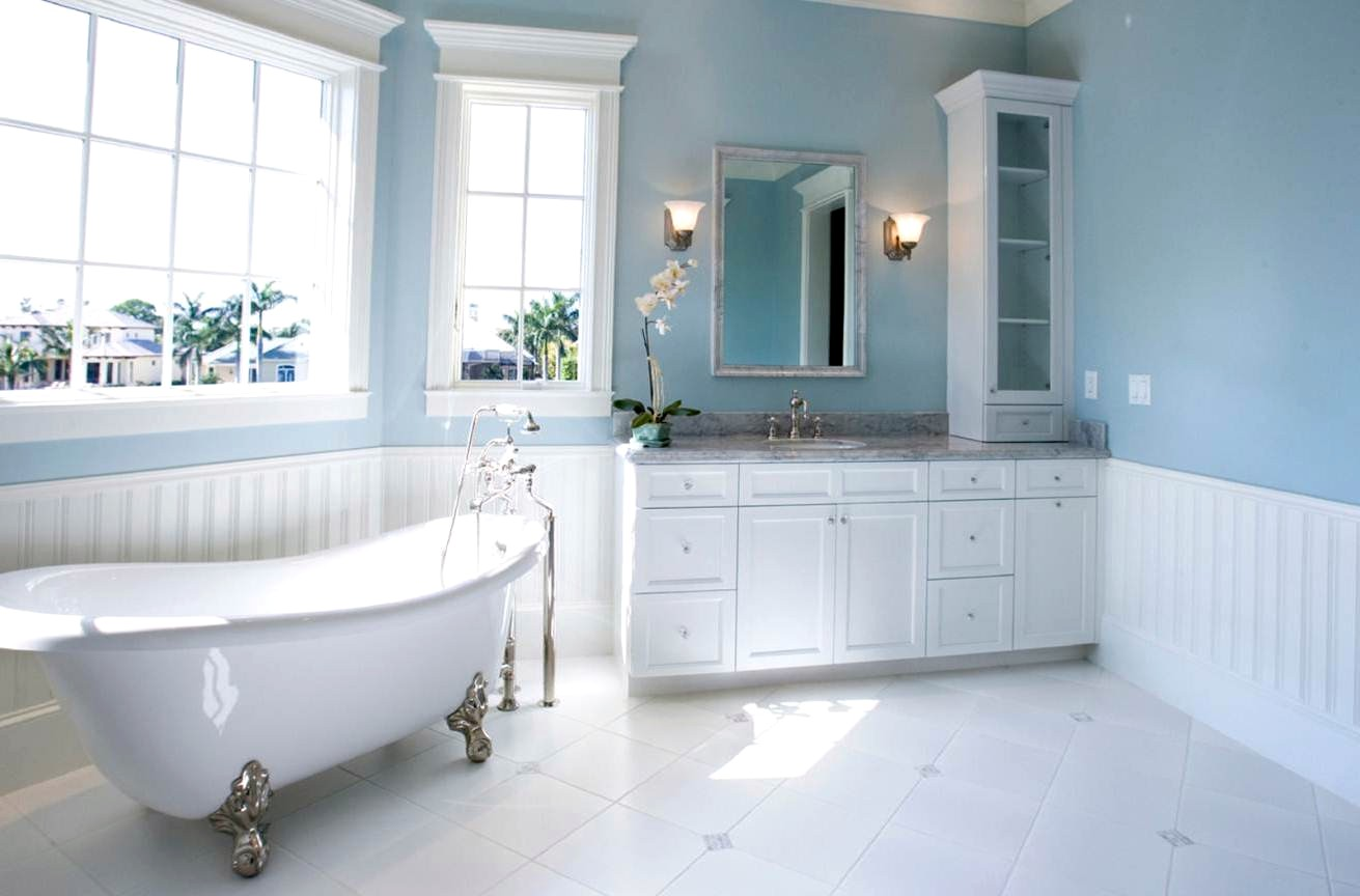 Good Wall Colors For Small Bathrooms