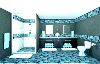 Teal Colored Bathroom Accessories