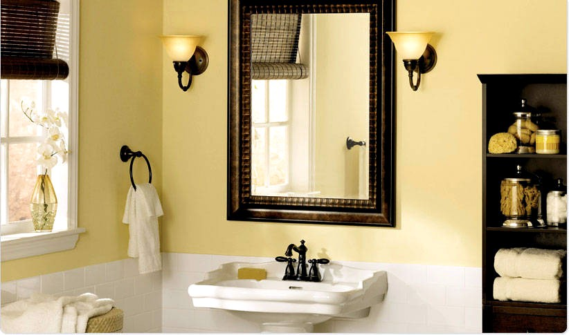 Vanity Color For Small Bathroom