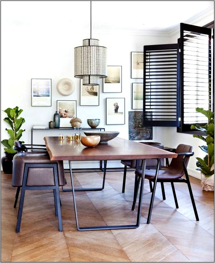 Casual Dining Room Wall Decorating Ideas