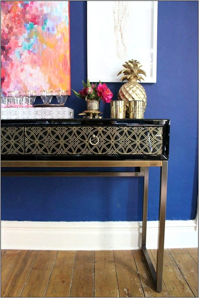 Console Table Ideas For Dining Room