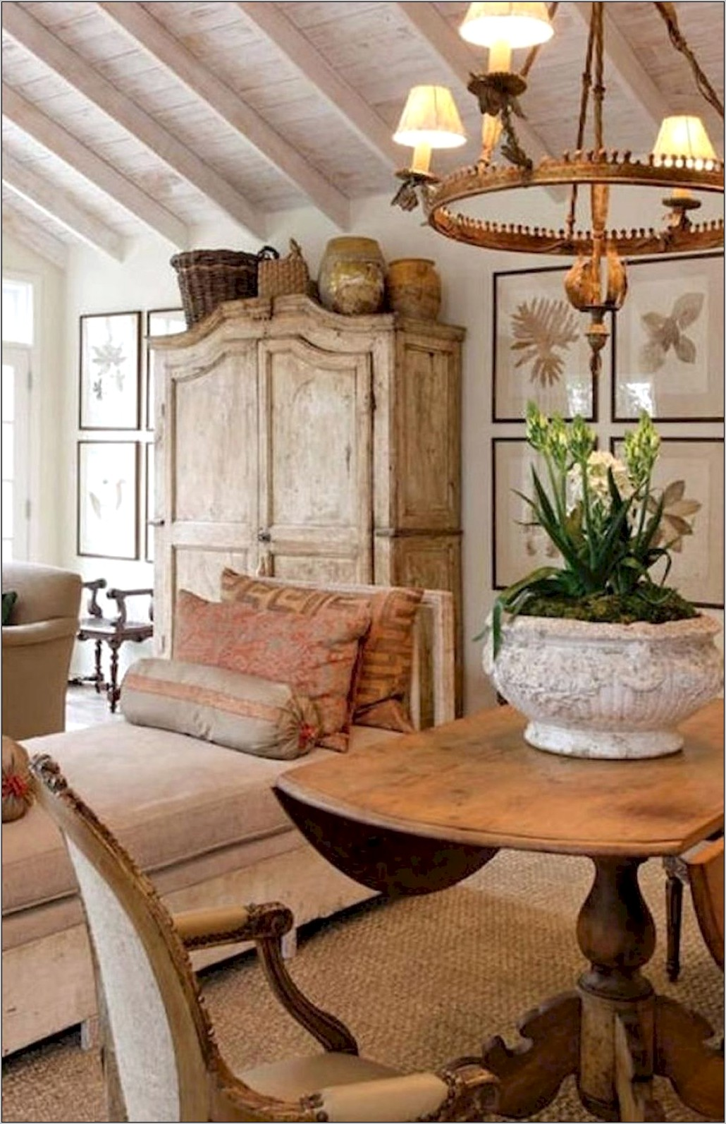 Country Dining Room Decor Ideas