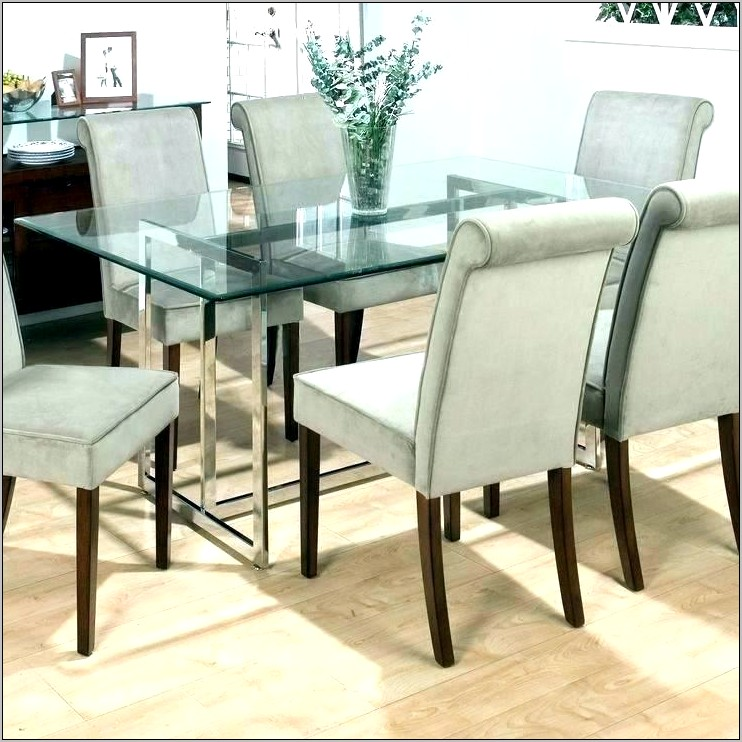 Decorate A Glass Dining Room Table