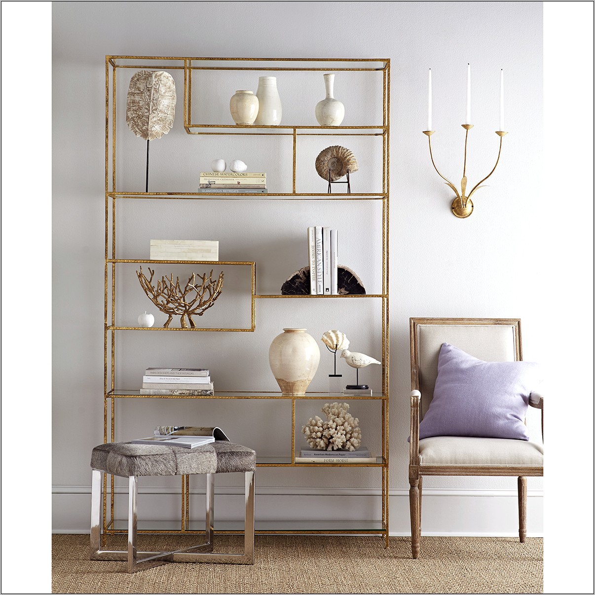 Decorating A Dining Room With Etagere