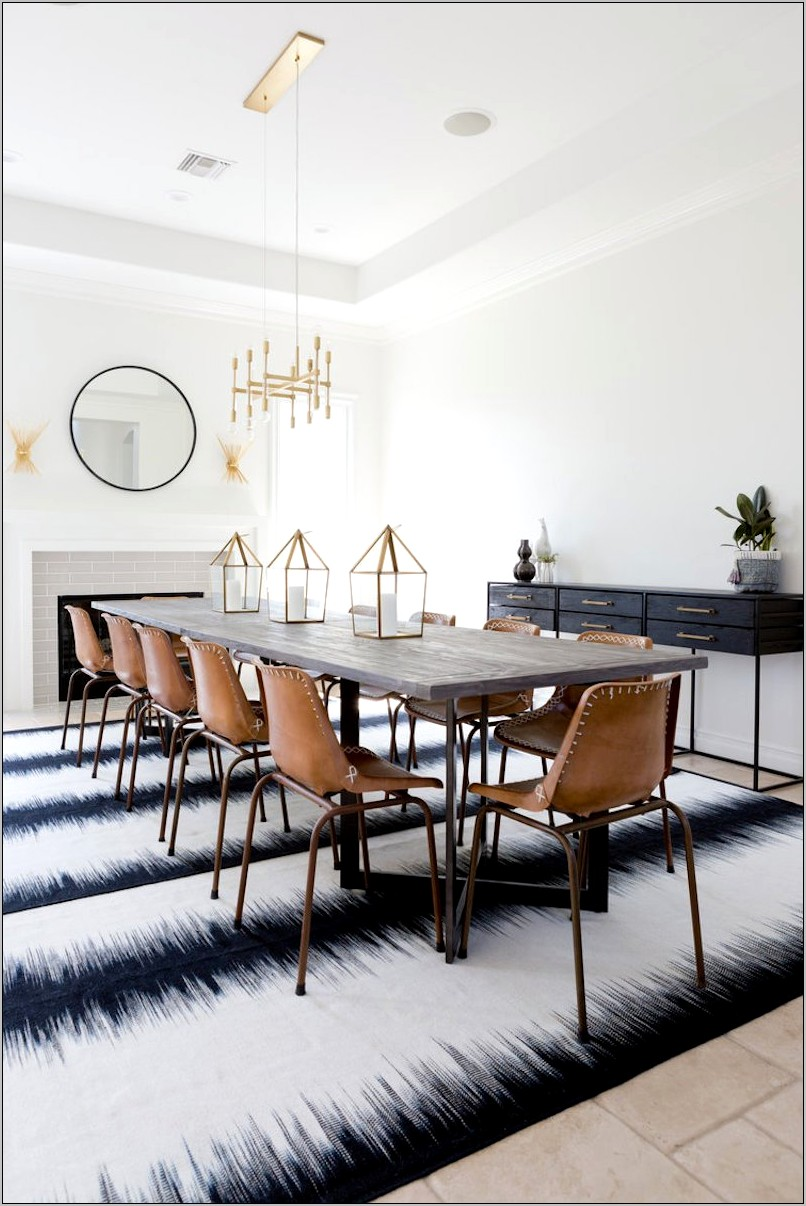 Decorating Dining Room Table Boho