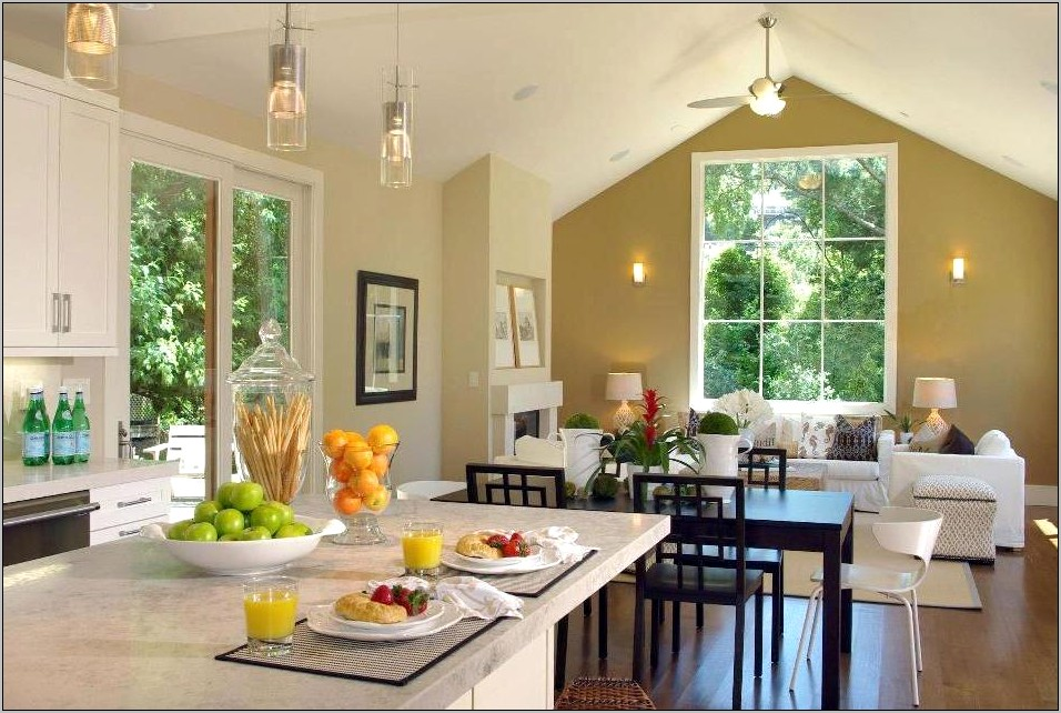 Dining Room And Living Room Combined Ideas