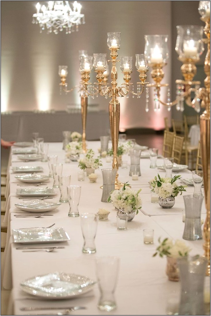 Dining Room Centerpiece Ideas With Gold