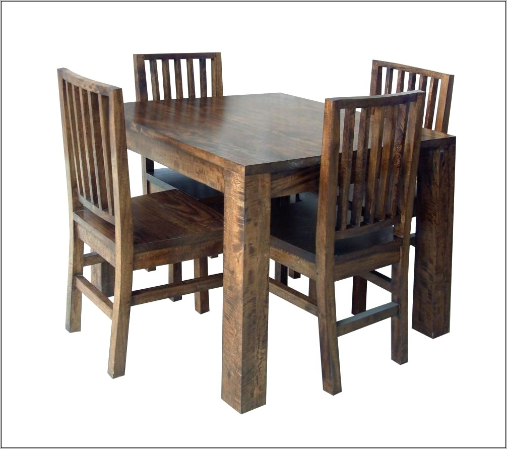 Dining Room Square Wooden Table Ideas