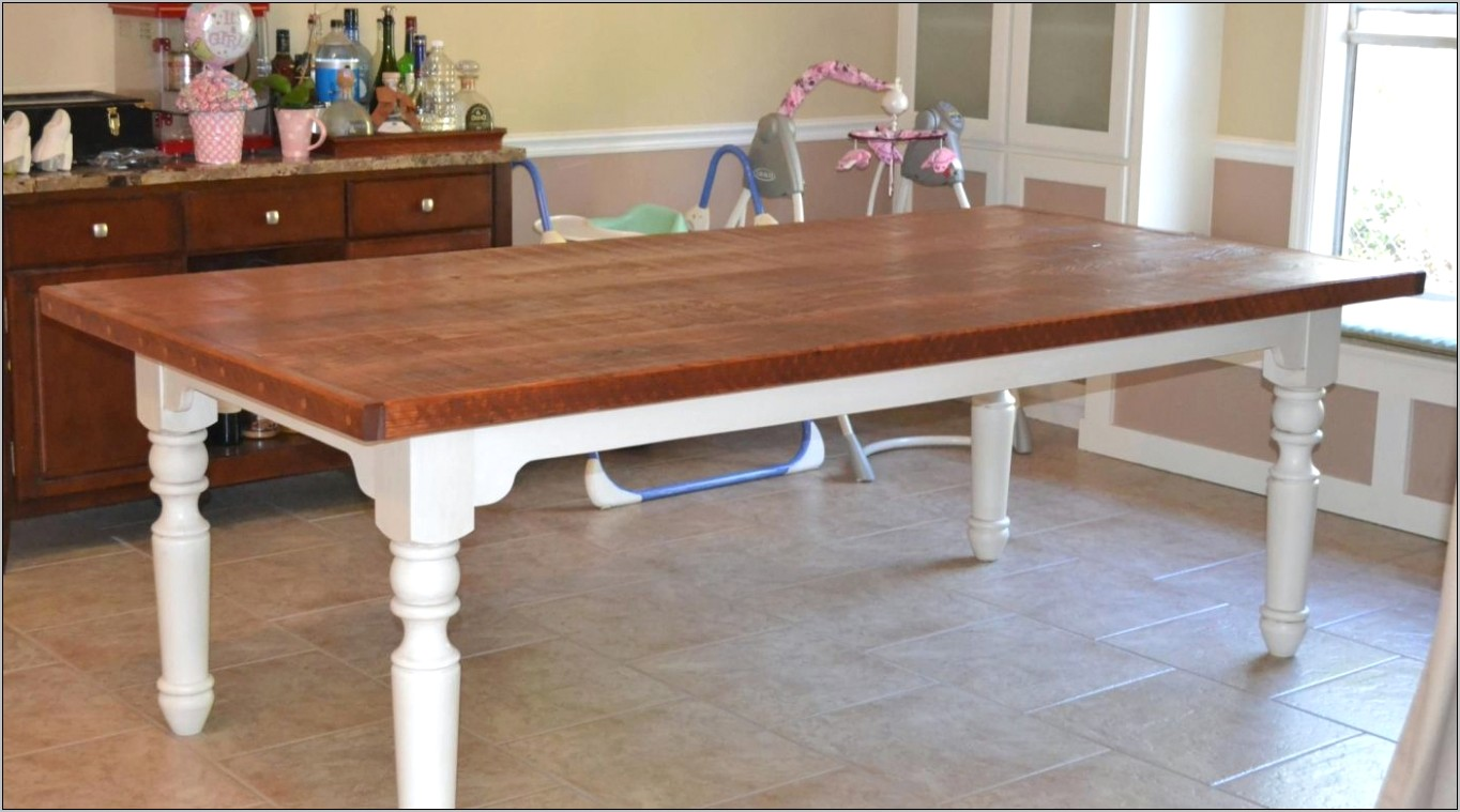 Dining Room Table Leg Ideas