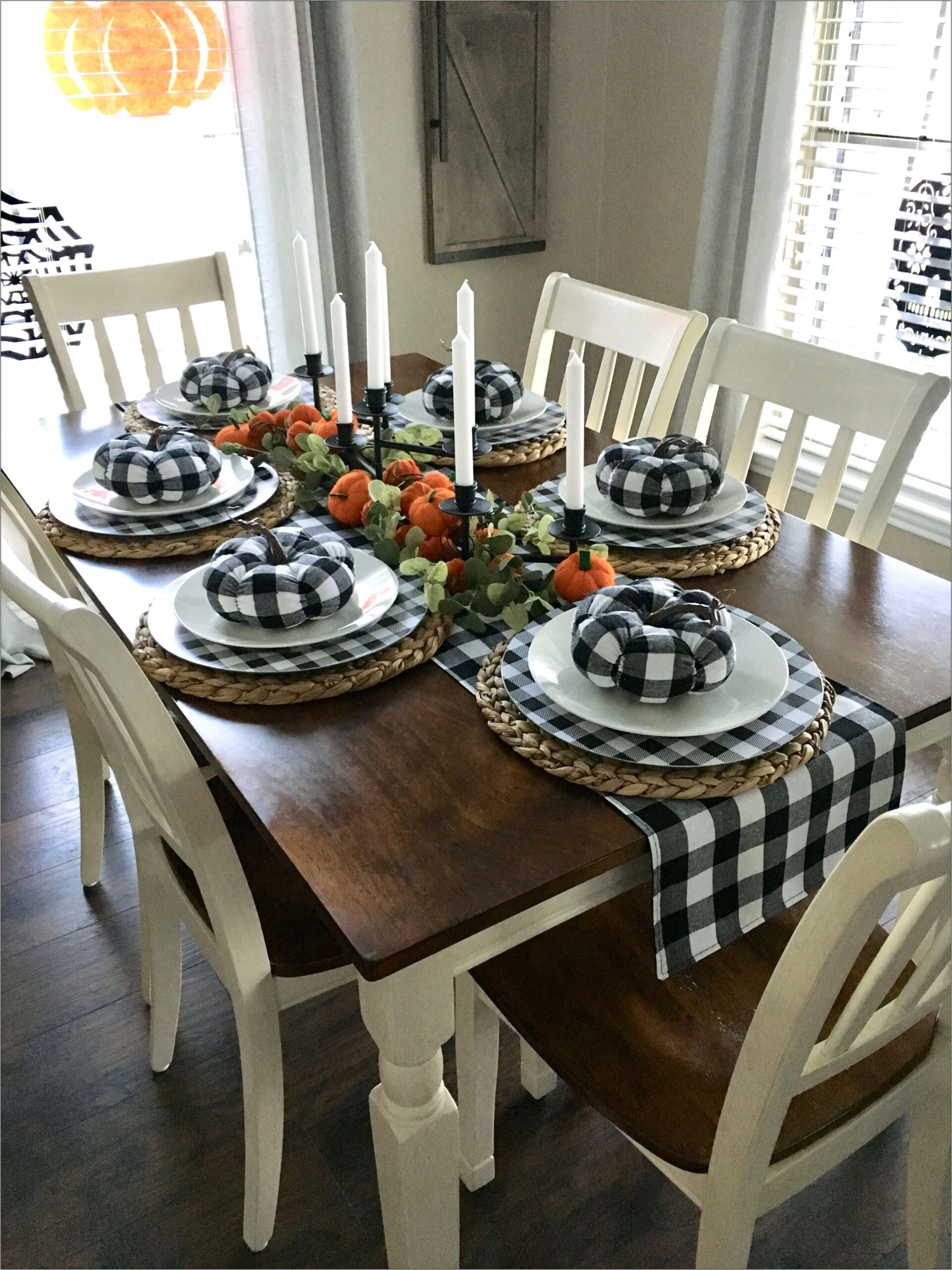 Fall Decorations For A Dining Room Table