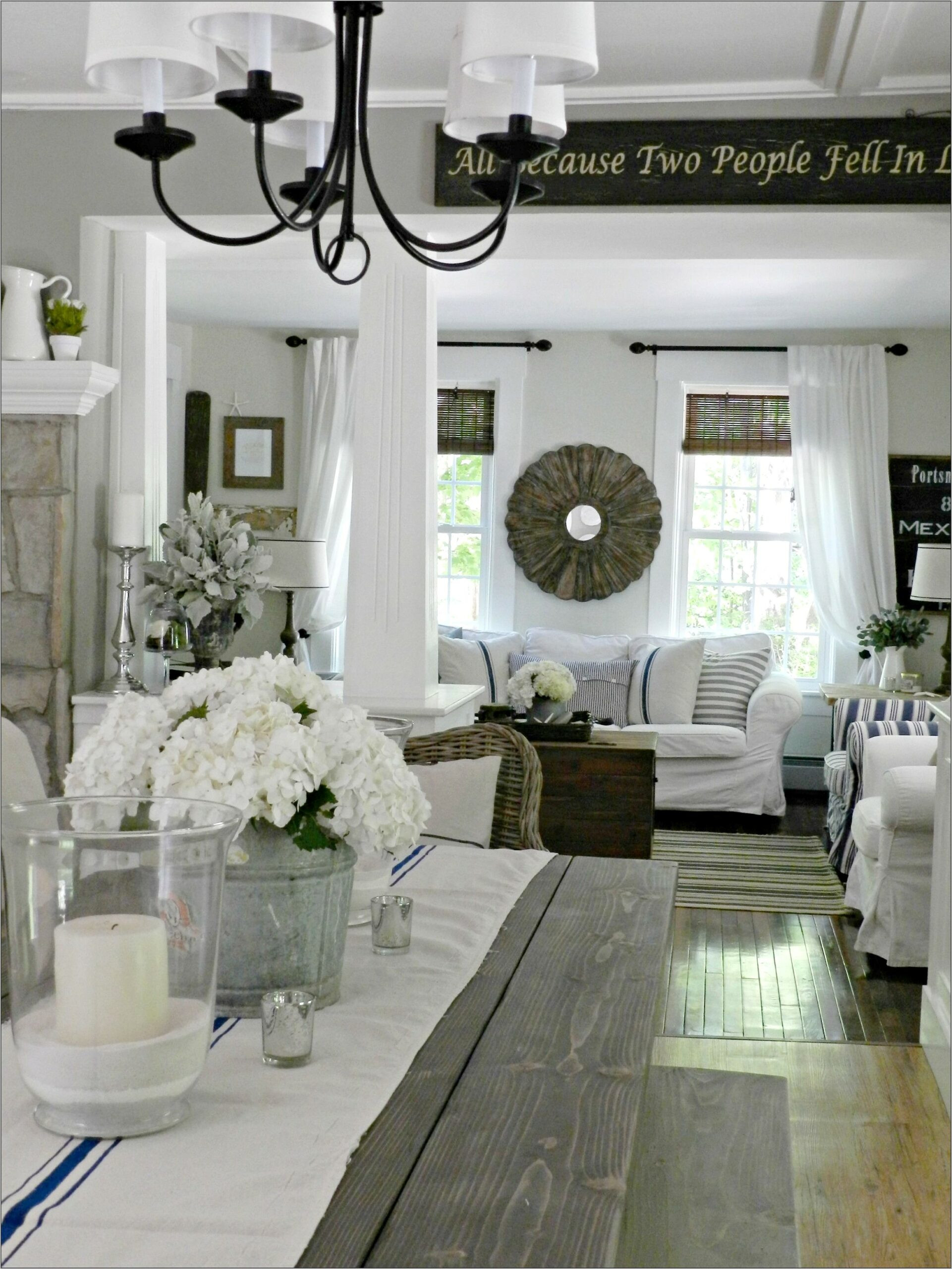Farmhouse New Decorating Ideas For Dining Room
