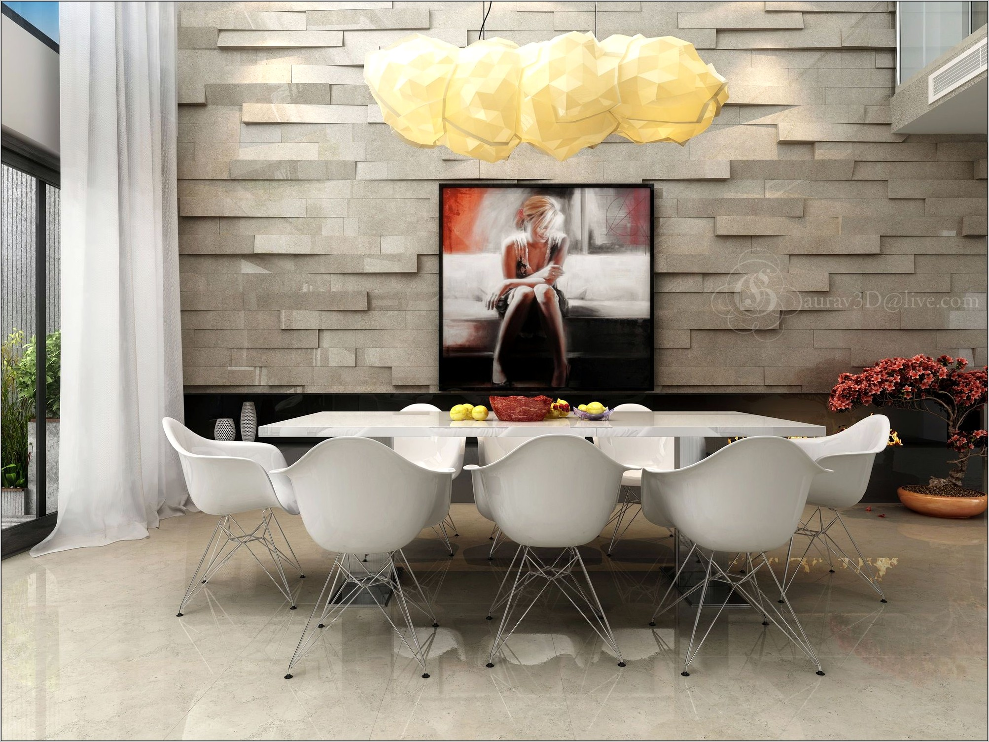 Feature Wall Ideas For Dining Room