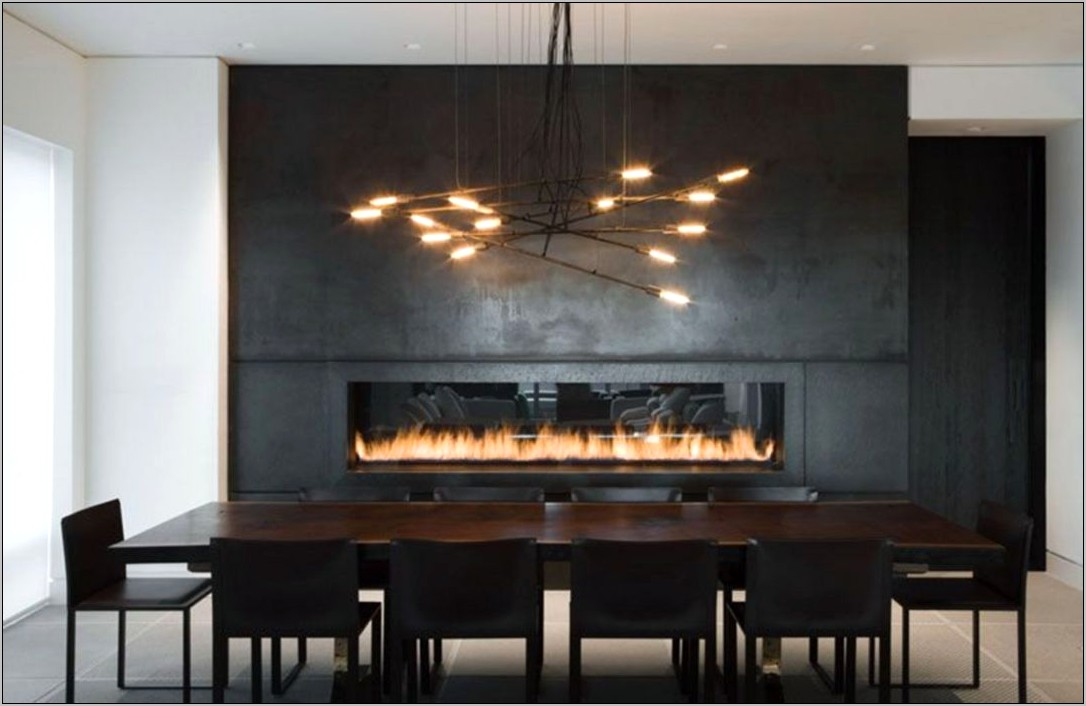 Fireplace Decorating Ideas In Dining Room