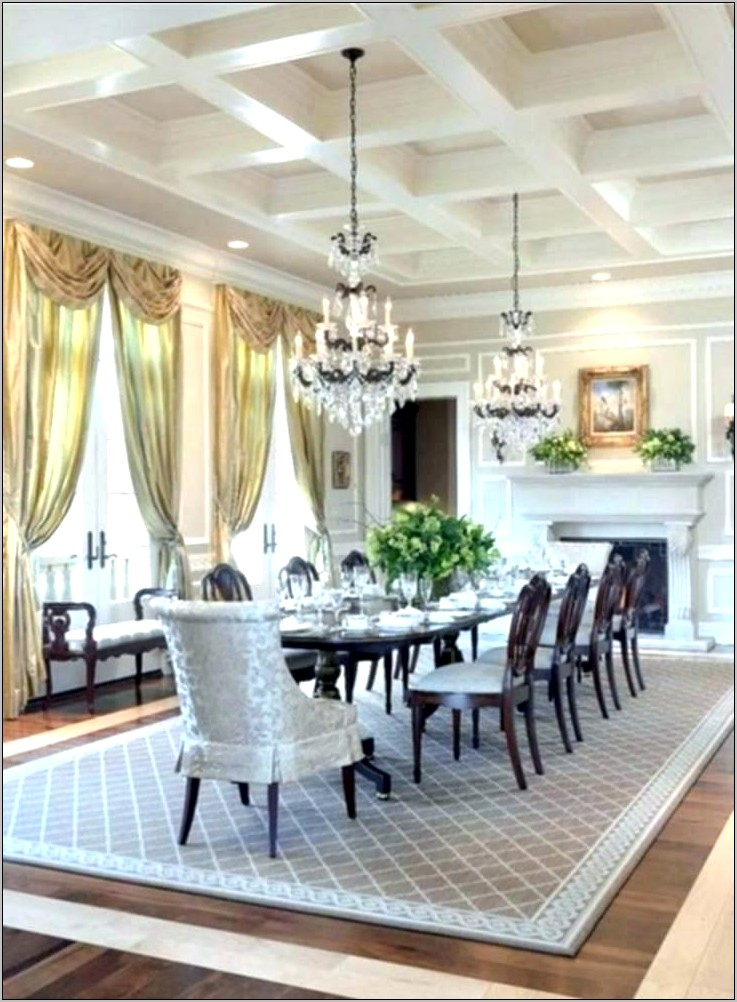 Formal Dining Room Flooring Ideas
