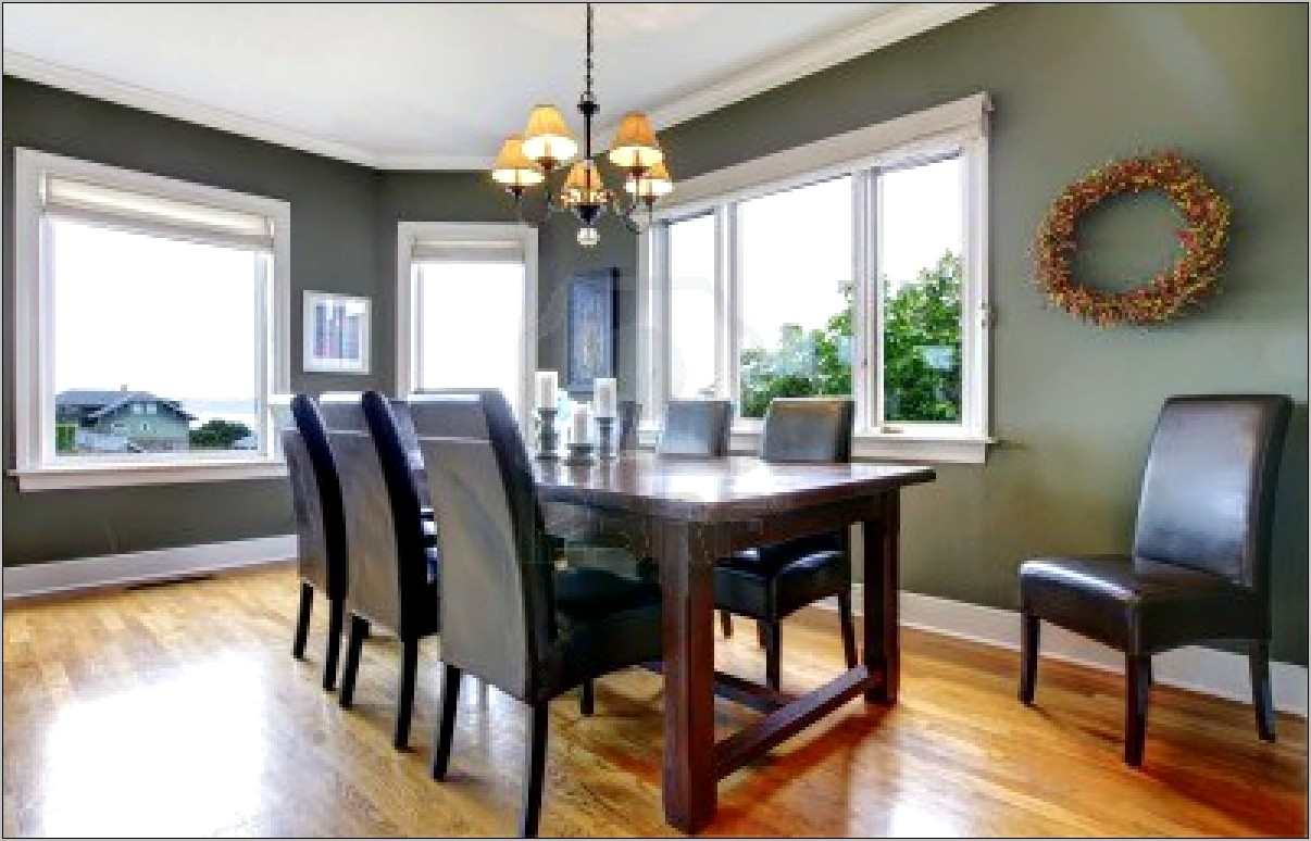 Green And Grey Dining Room Ideas