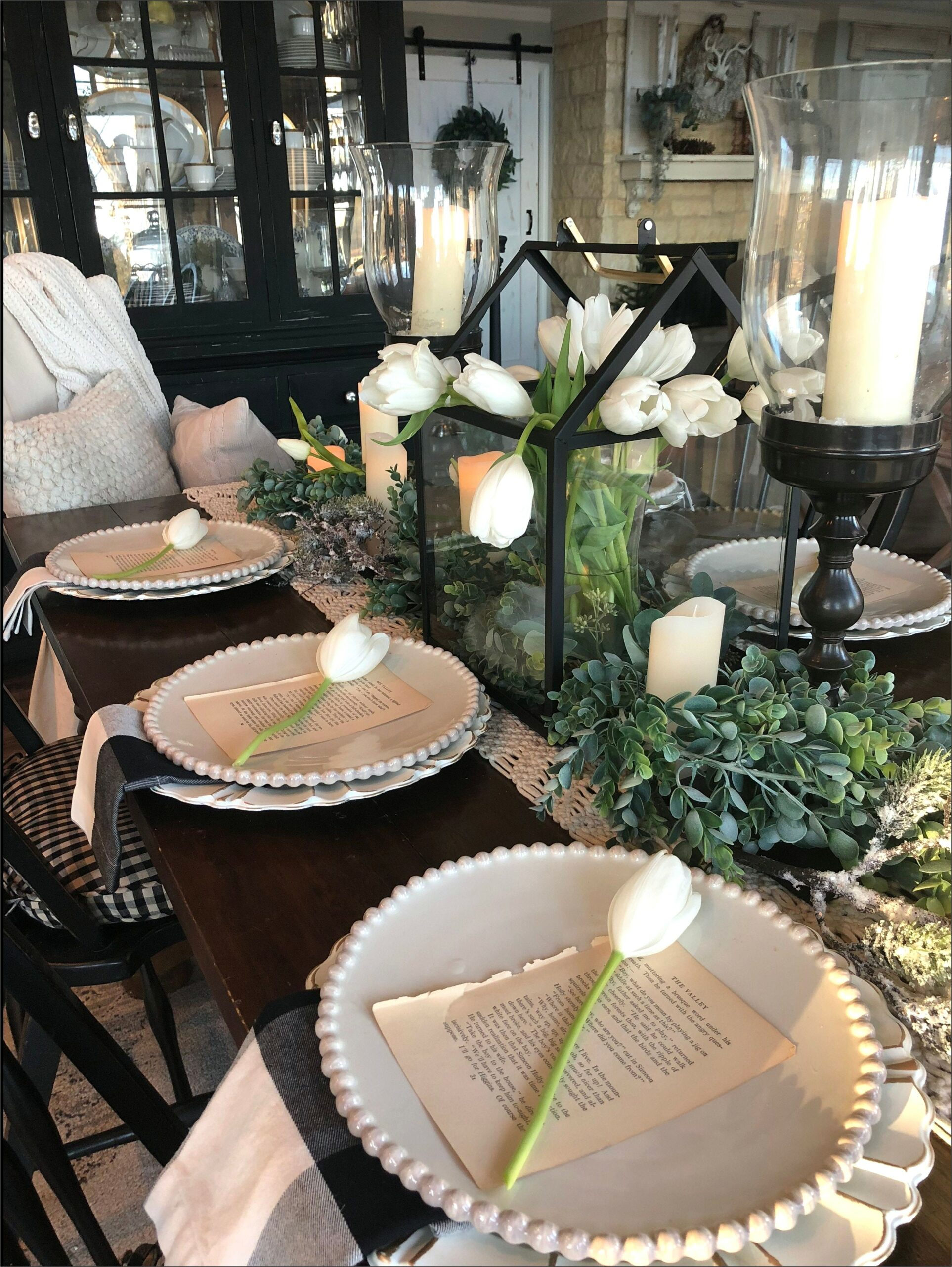 Ideas For A Dining Room Table Centerpiece