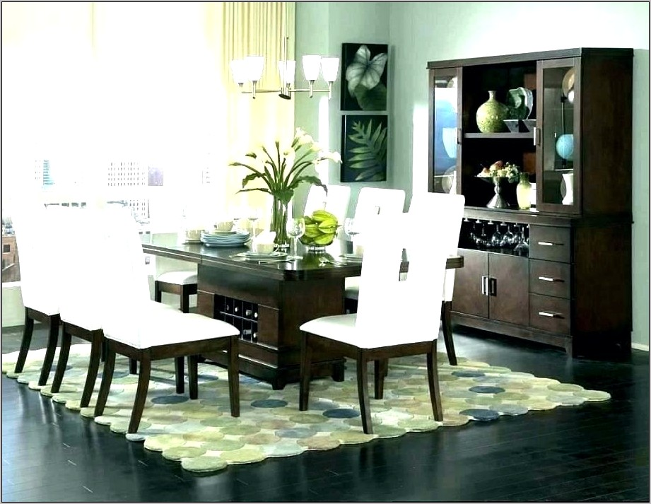 Ideas For Rugs Under Dining Room Table