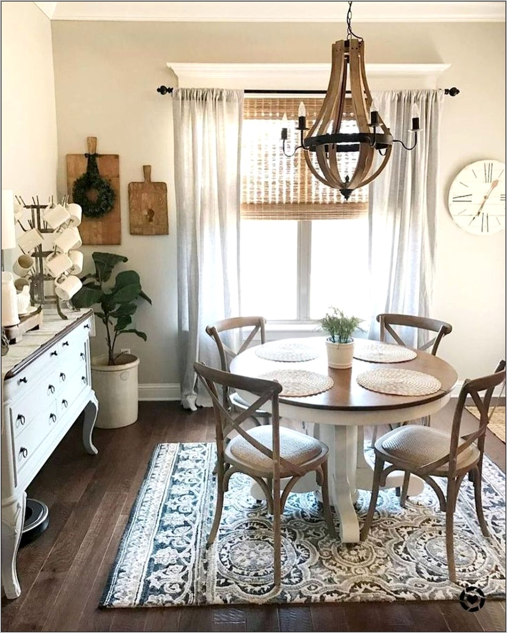 Rustic Dining Room Table Decorating Ideas
