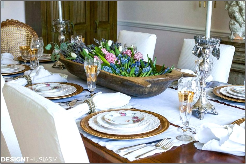 Table Setting Ideas For Dining Room