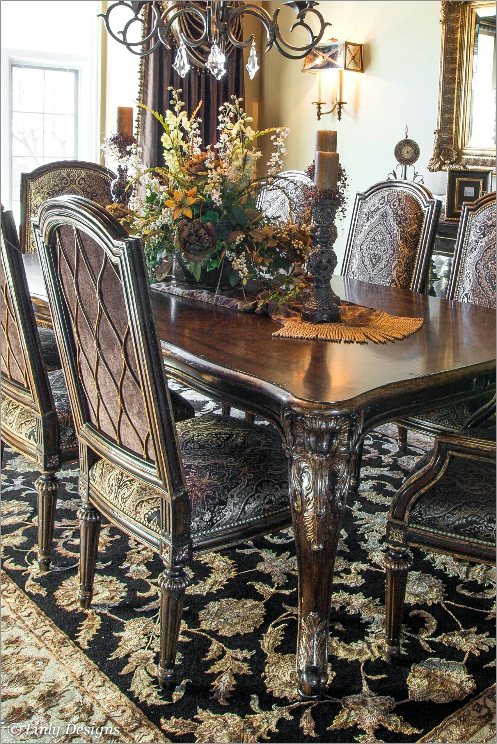 Tuscan Dining Room Table Decor