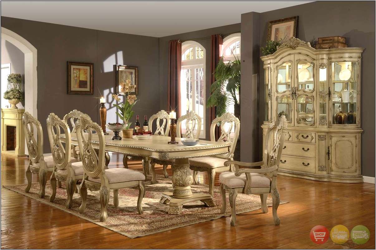 White Rustic Dining Room Ideas